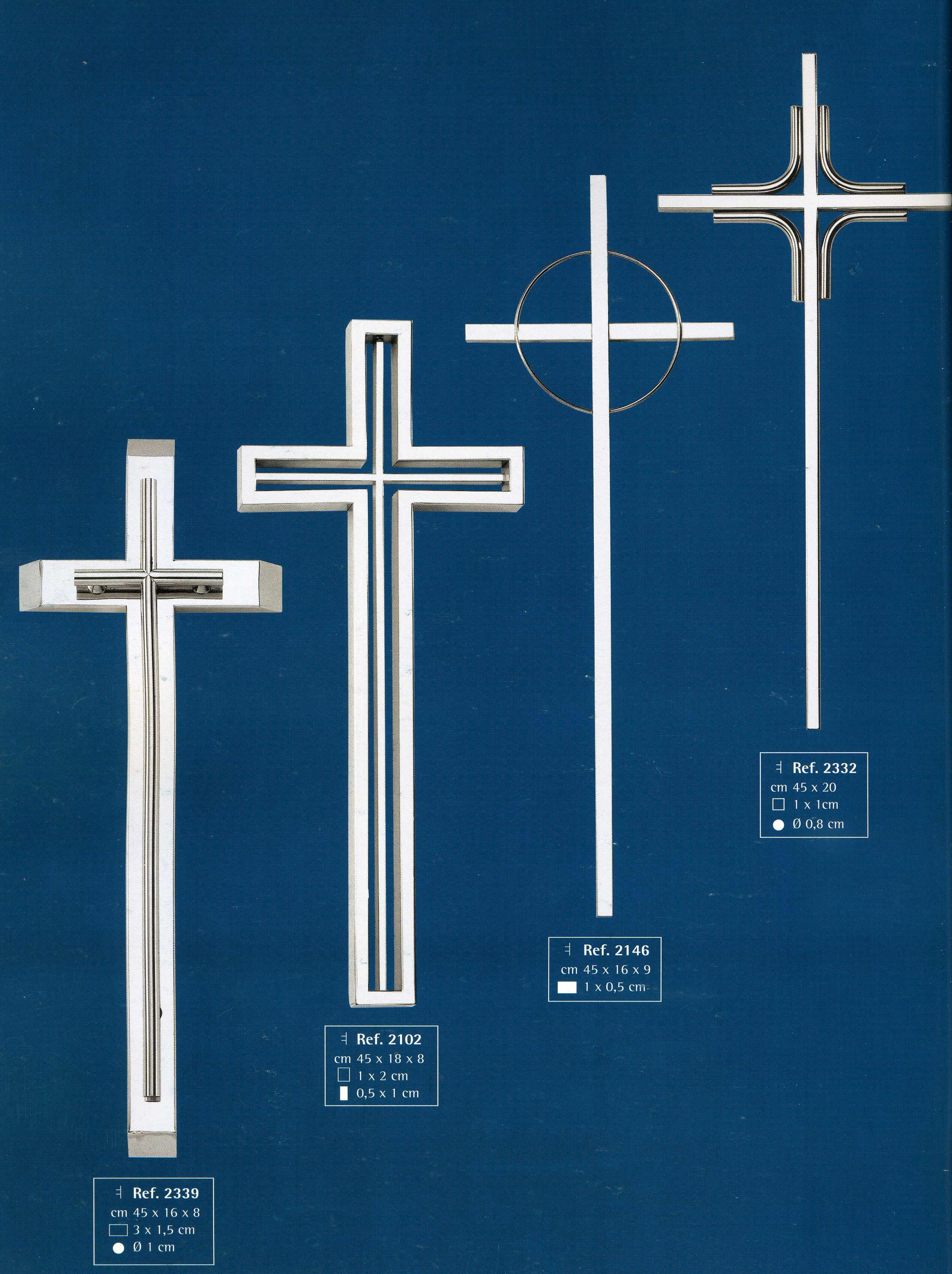 Cruces de acero inoxidable