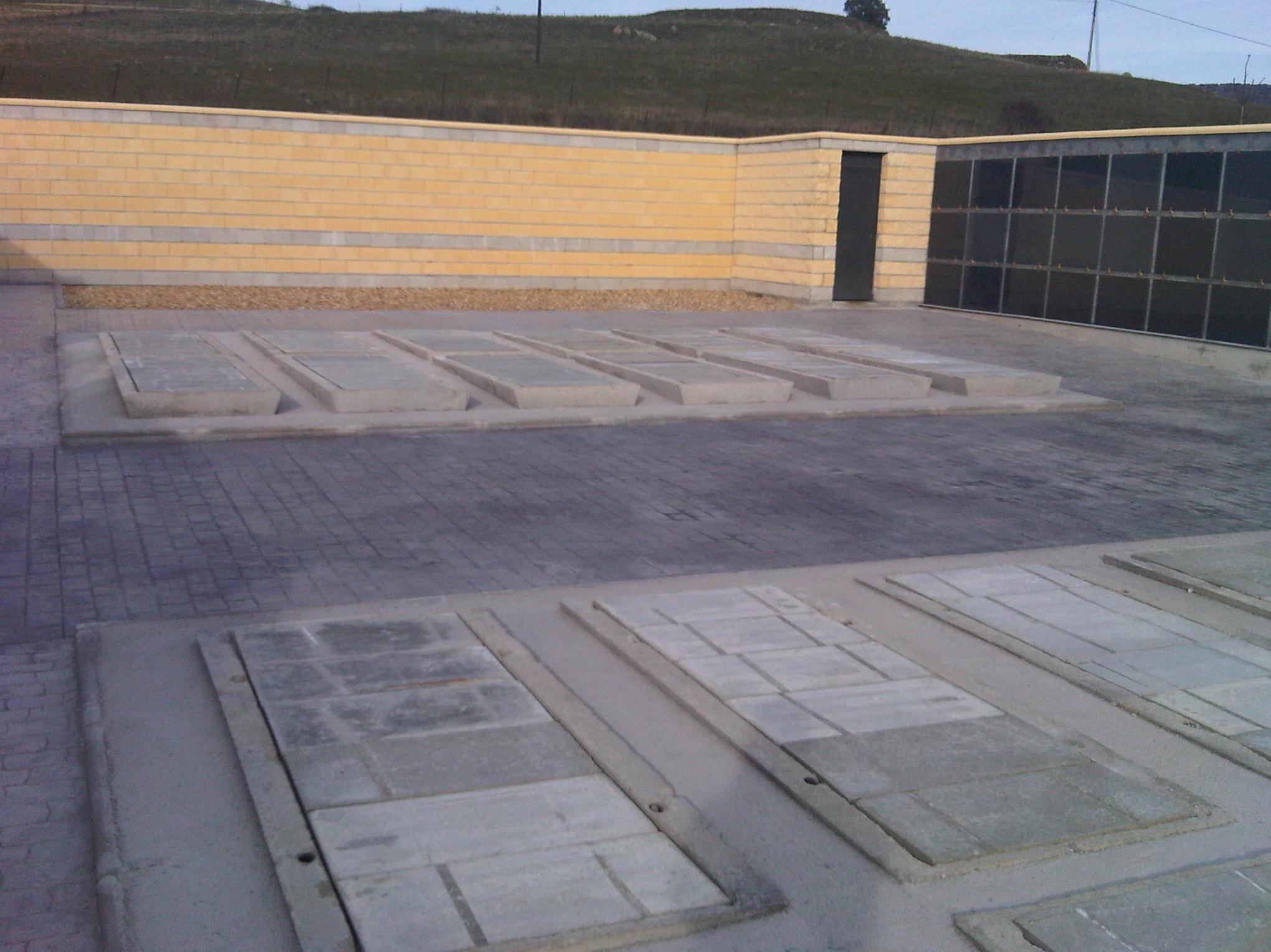 Sepulturas de suelo prefabricadas
