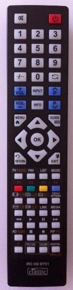 Mando programable para LCD,  LED y plasma