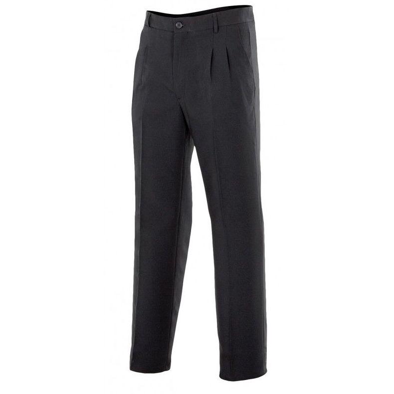 Pantalon caballero negro con pinzas: Productos de Gamo Vestuario Laboral