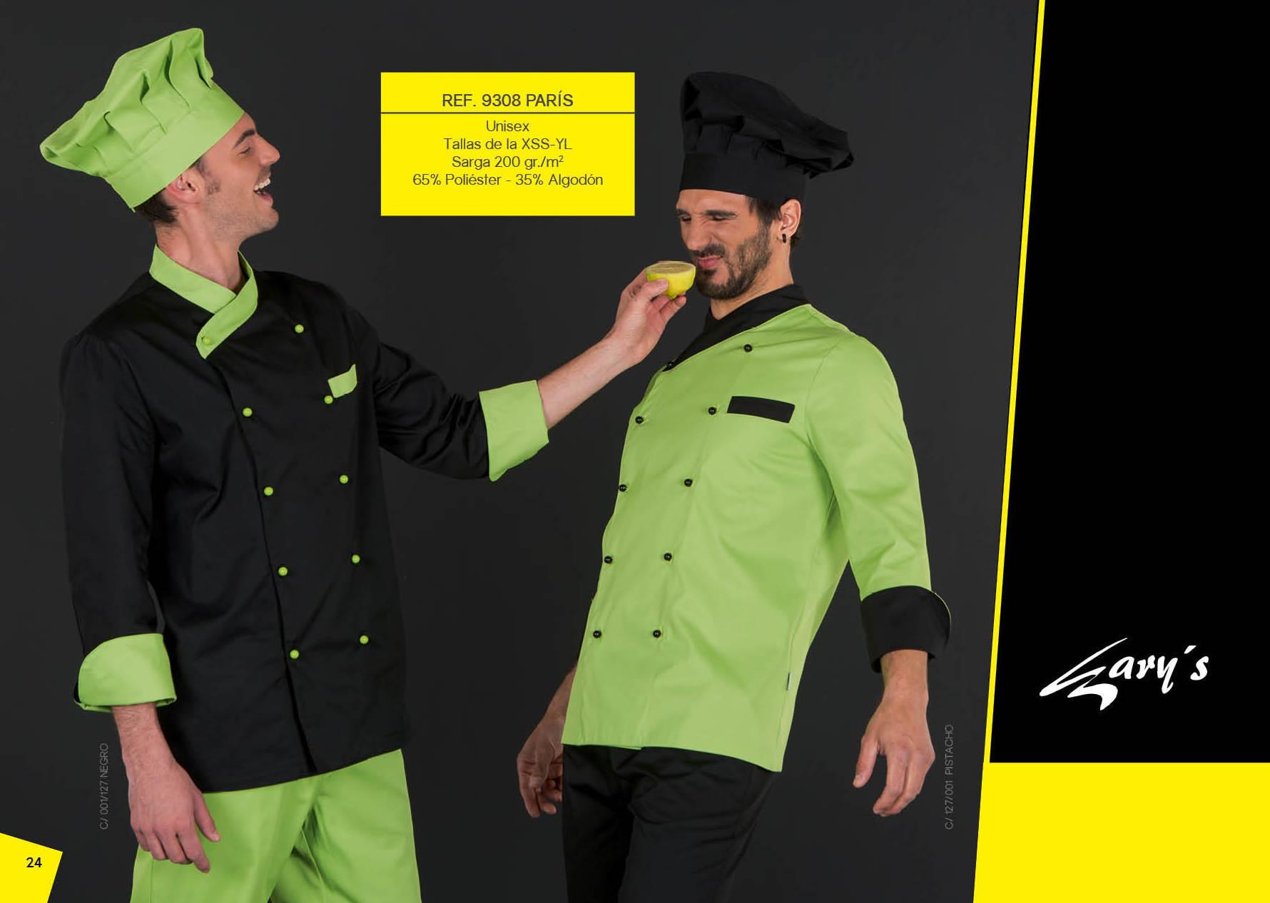 Chaqueta de cocina combinada 9308: Productos de Gamo Vestuario Laboral