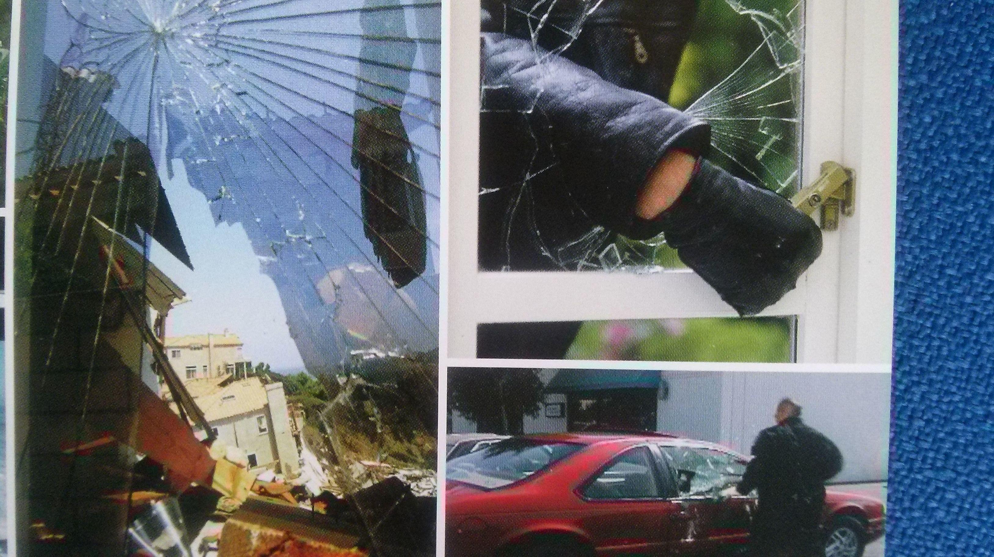 Instalación de láminas antigrafiti y de seguridad