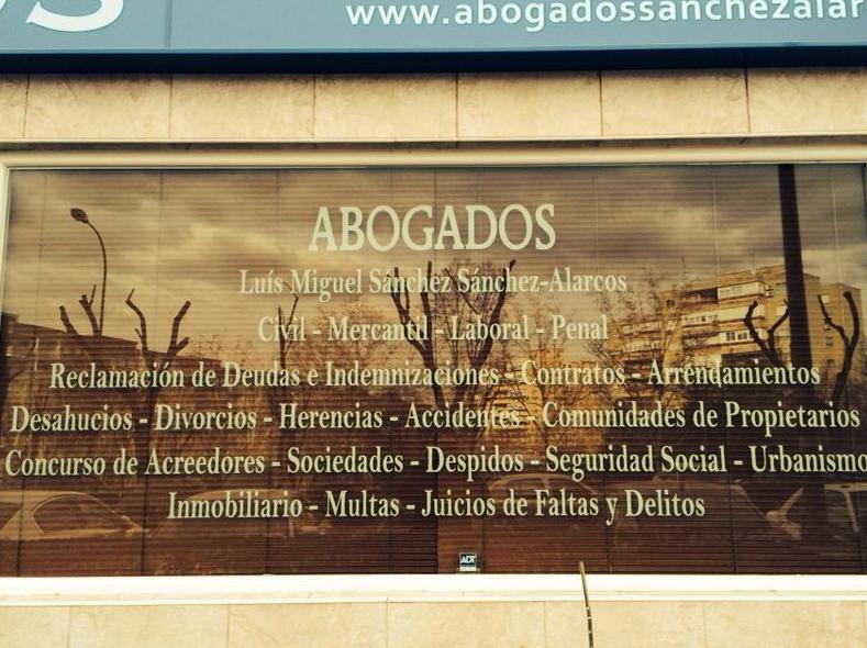 Exterior del Despacho Jurídico