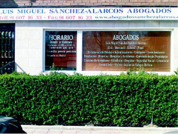 Foto 2 de Abogados en Fuenlabrada | Sánchez -  Alarcos & Abogados