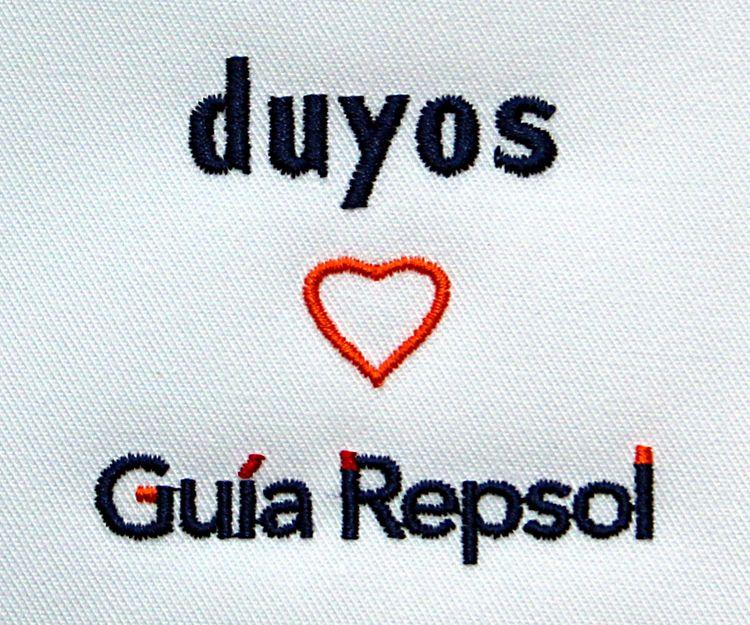 Bordado de Duyos Repsol