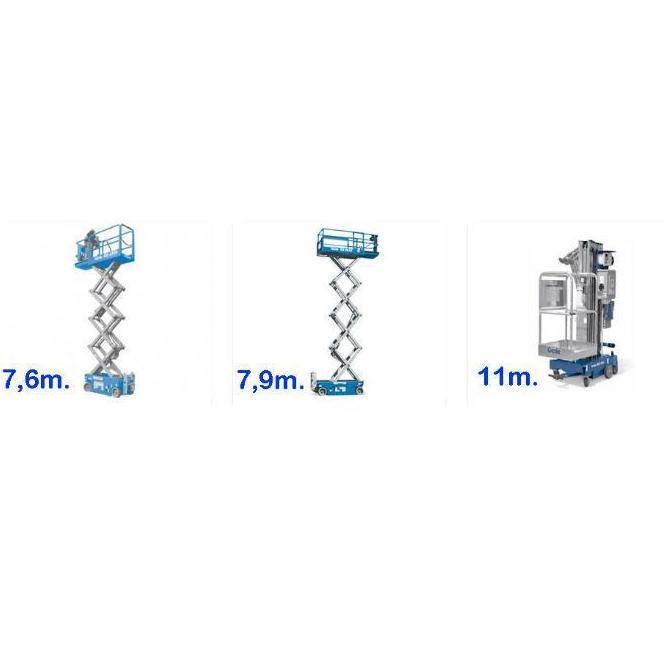 Alquiler plataformas elevadoras: Servicios de Serema