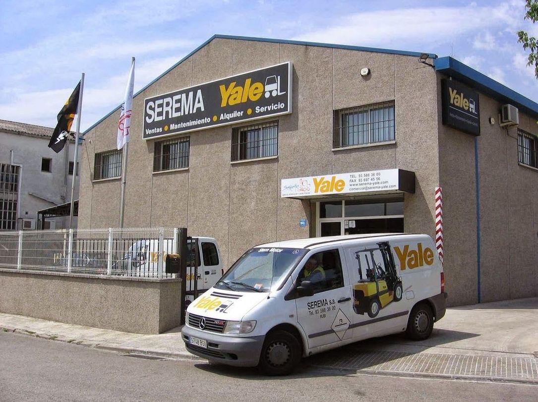 Alquiler y venta de carretillas elevadoras en Barcelona