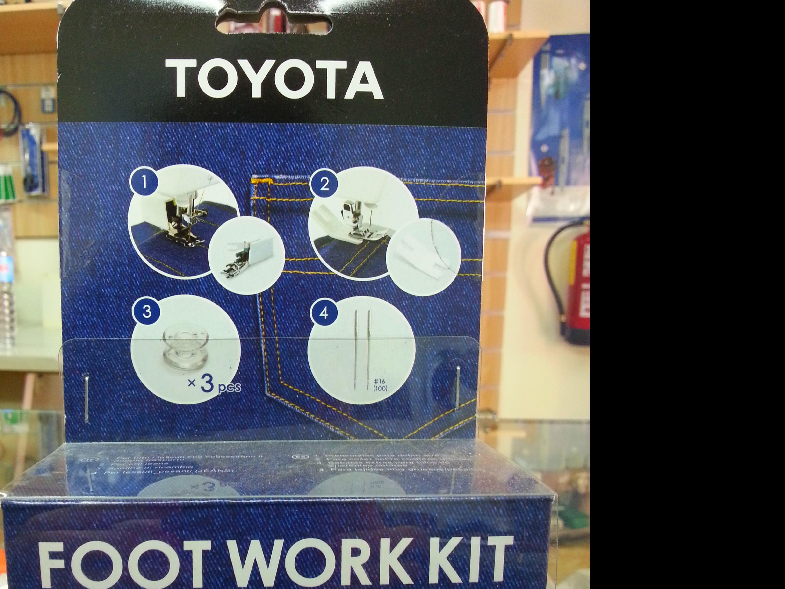 KIT TOYOTA FOOTWORK JEANS: Catálogo de Co.Ma.Tex.