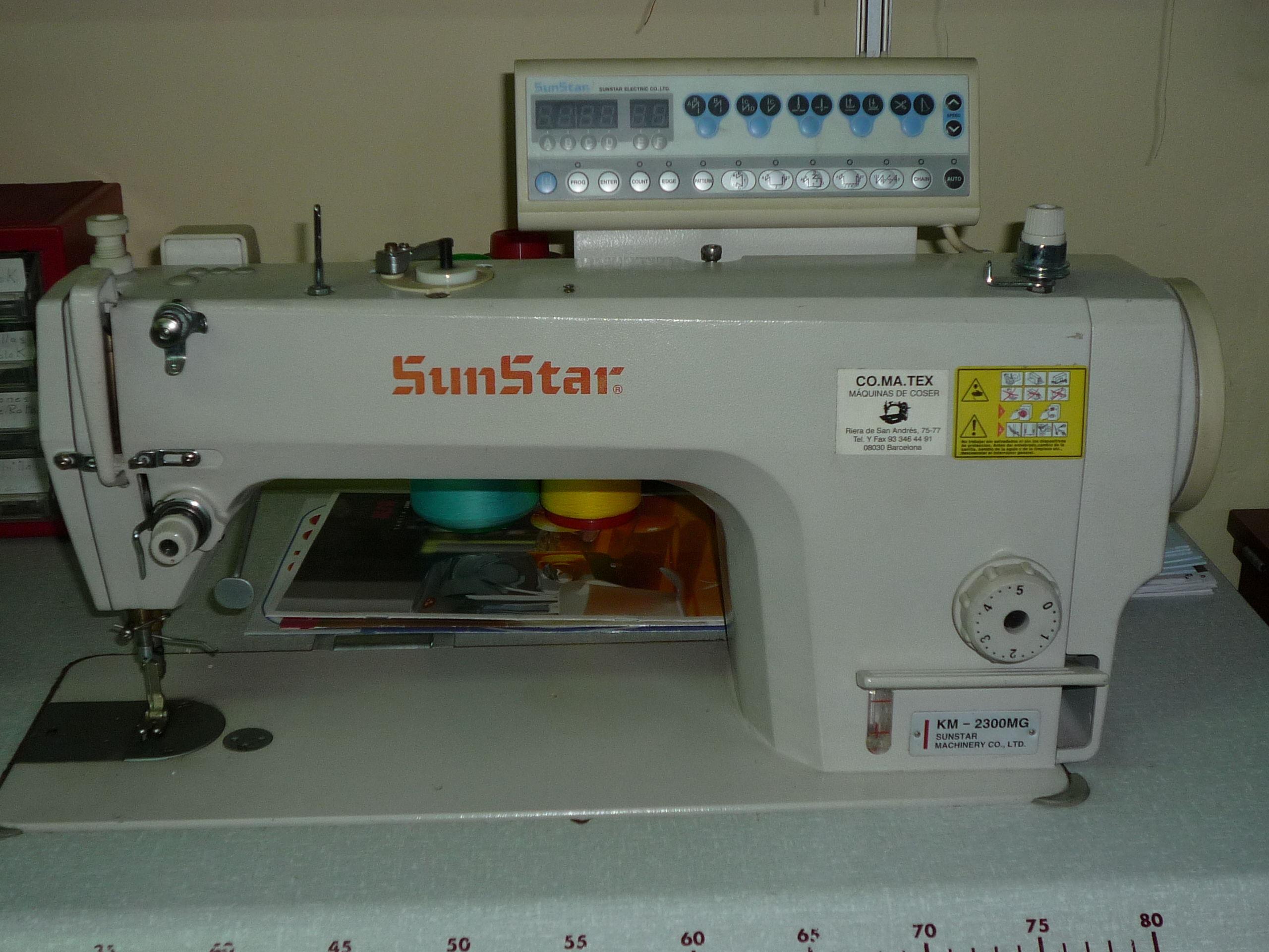 Venta máquina industrial Sunstar mod.KM-2300 MG, Barcelona