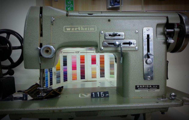 Máquina de coser semi-industrial en Barcelona