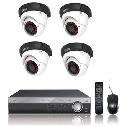 Kit 4 cámaras