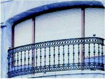 Forja de hierro para ventanales en San Sebastián