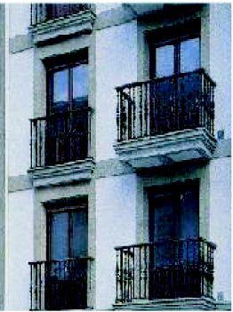 Forja de hierro para balcones en San Sebastián
