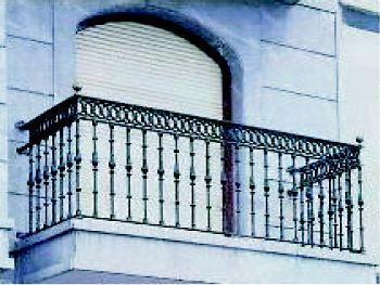 Forja de hierro para terrazas