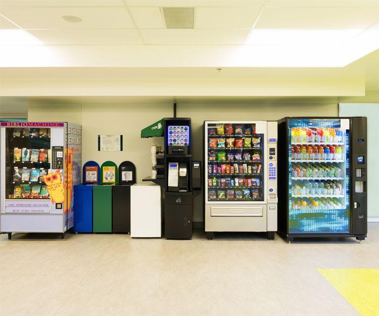 Mantenimiento máquinas expendedoras: Servicios de Marco Vending
