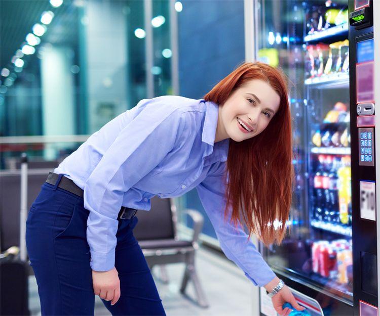 Máquinas vending para empresas