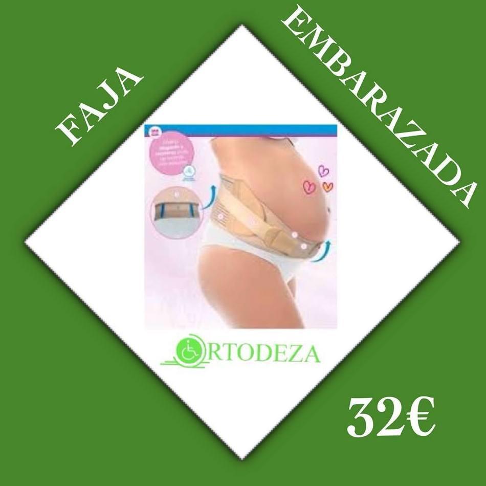FAJA ESPECIAL PARA EMBARAZADAS 32 €: Productos y Servicios de Ortodeza Ortopedia y Parafarmacia