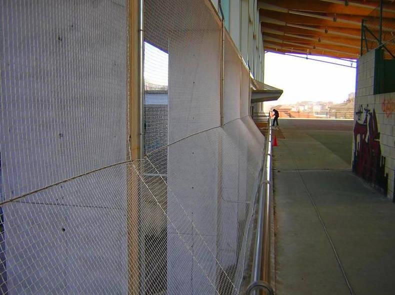 vallas cerramientos metálicos en Donostia