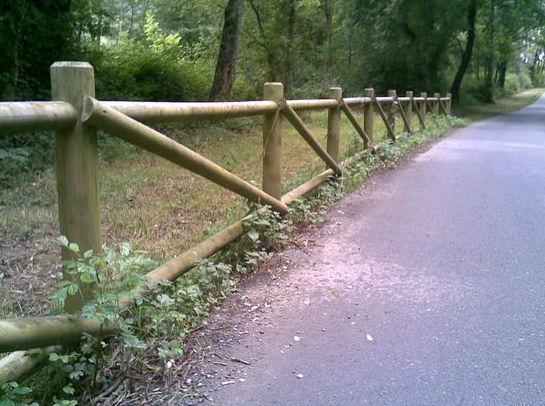 Vallas de madera  tratada : Servicios de Cercados Sarelan