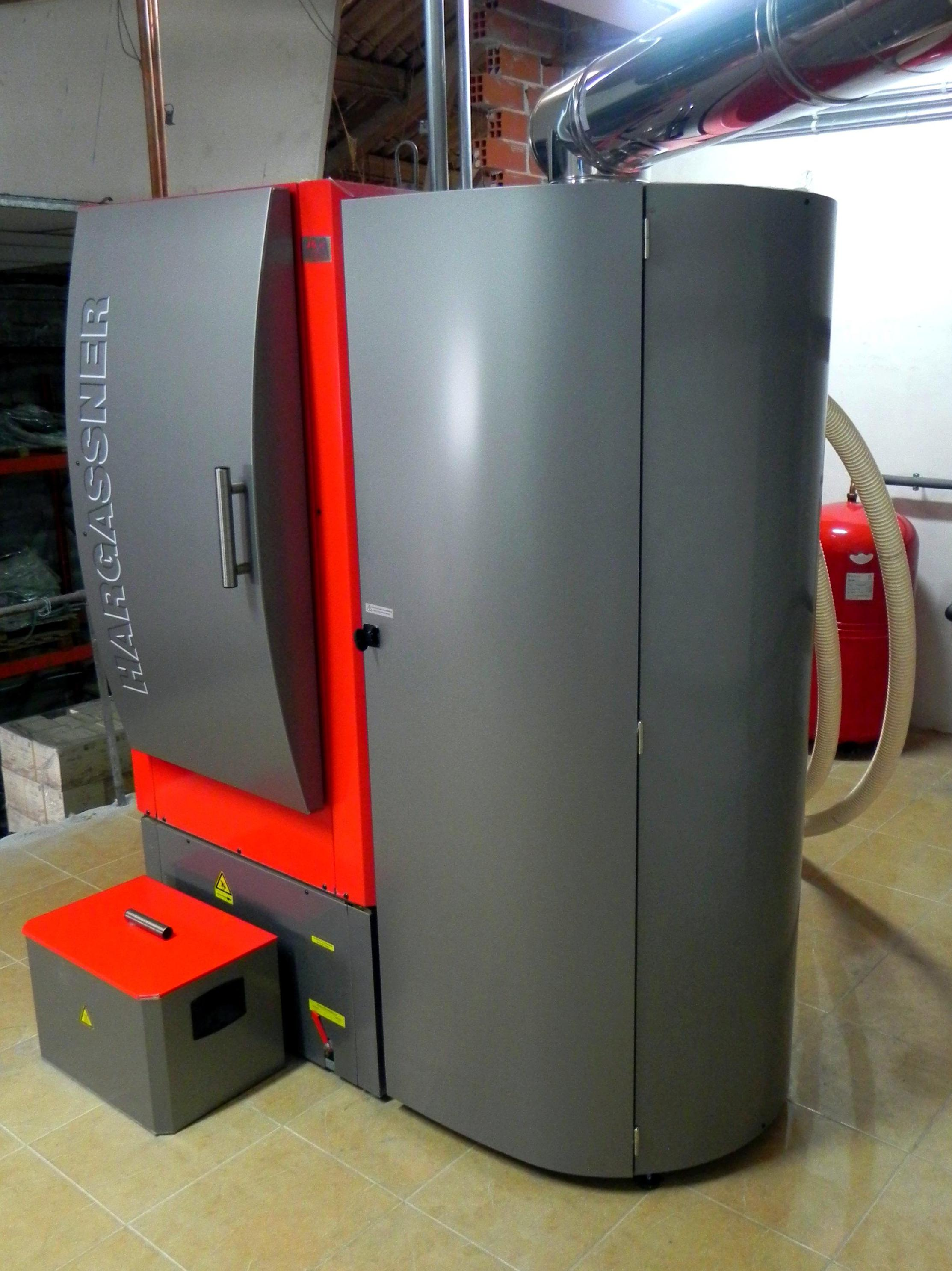 Instalación de biomasa (pellets)