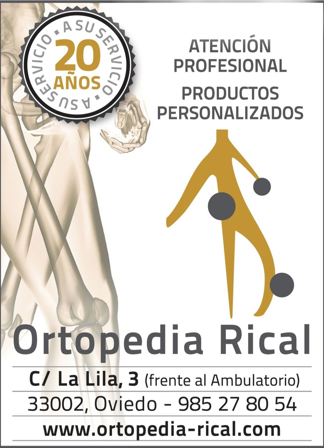 Foto 1 de Ortopedia en  | Ortopedia Rical Geriatría