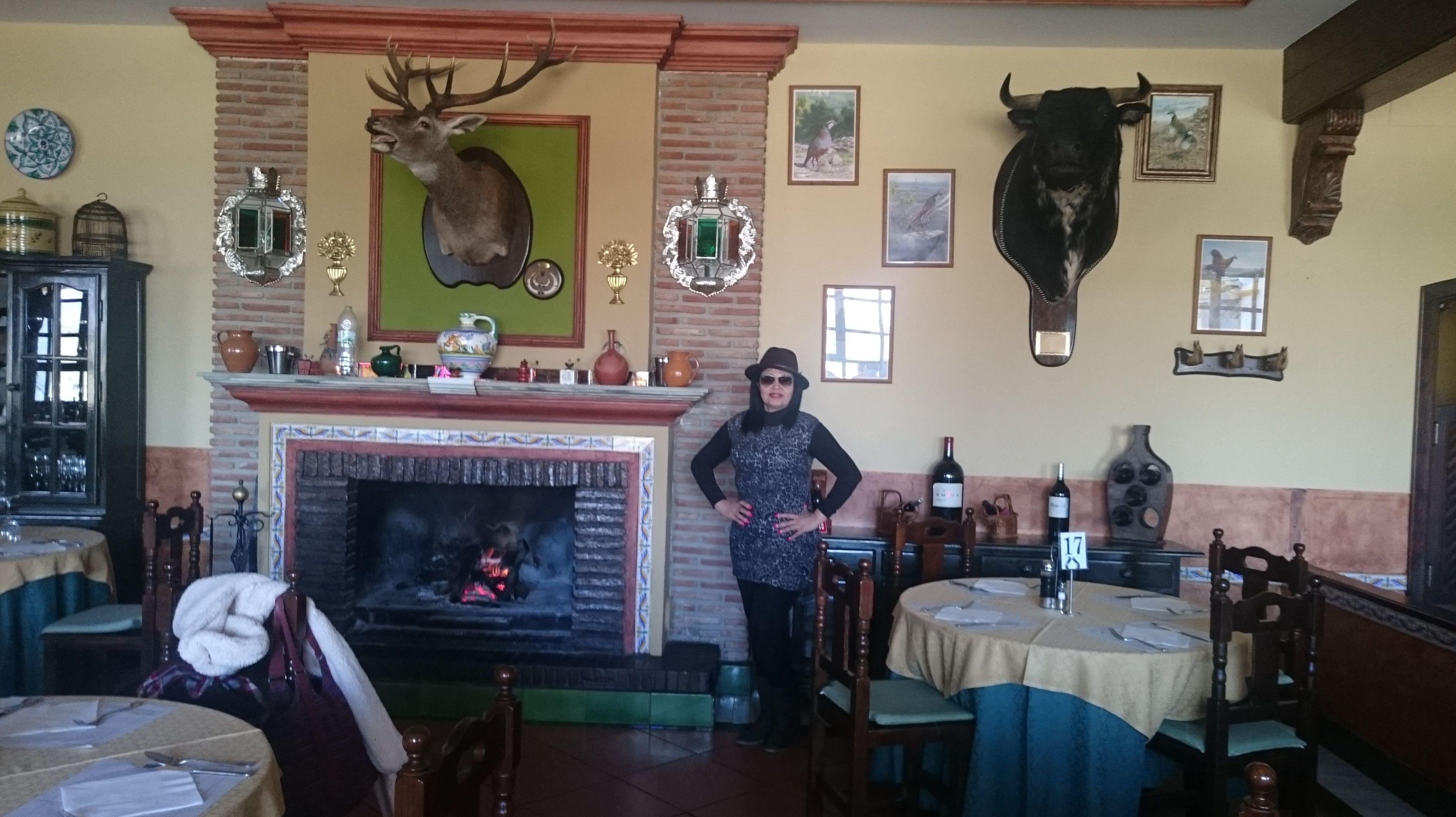 Restaurante de montaña, buena comida