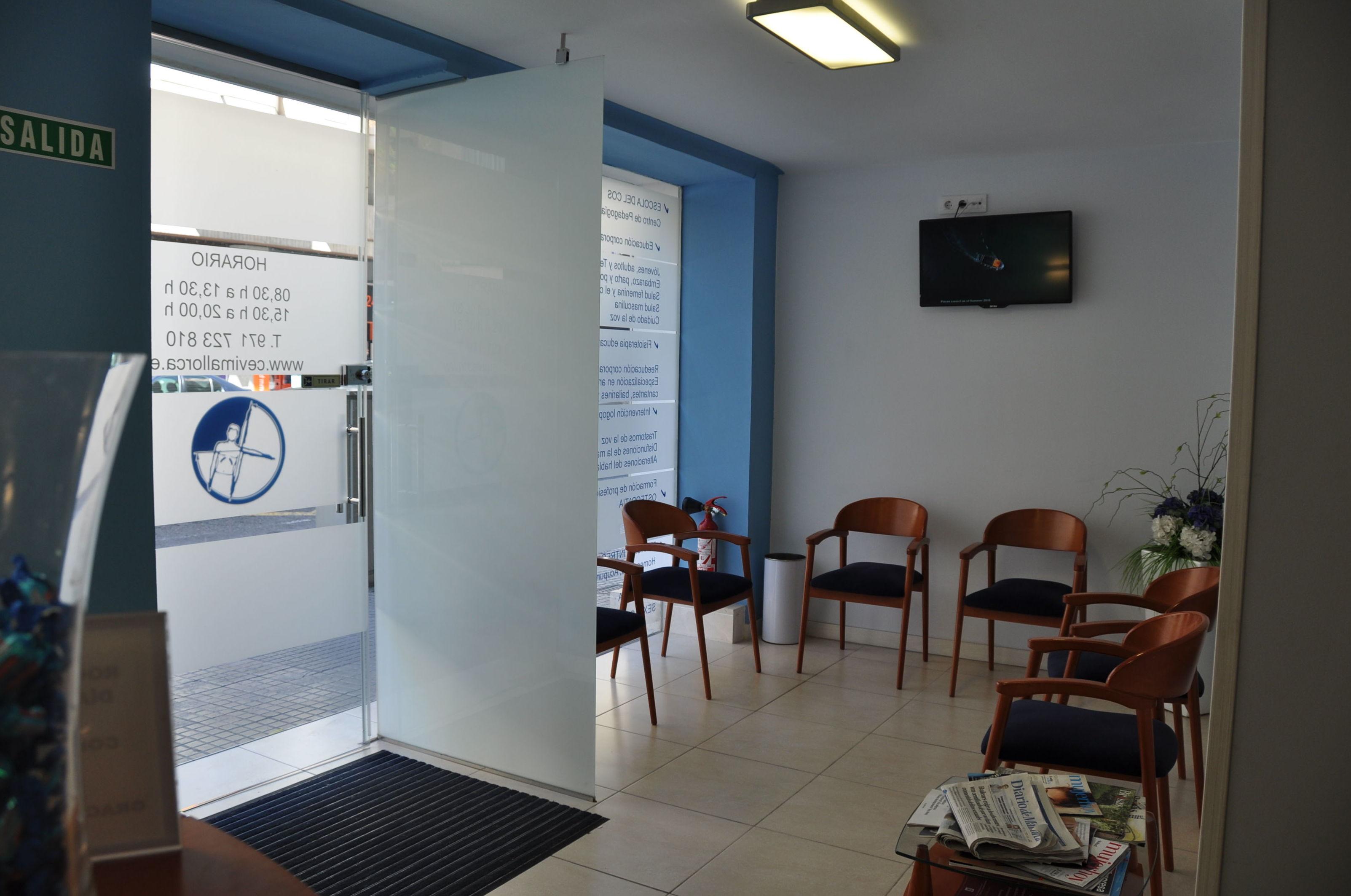 Zona de espera de nuestra clínica