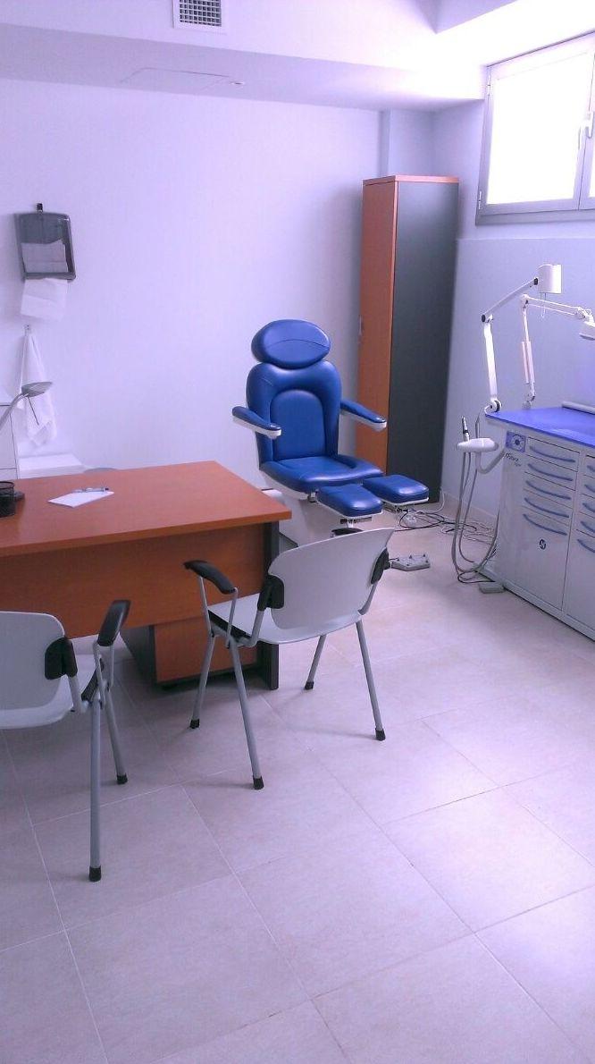 Interior de la consulta