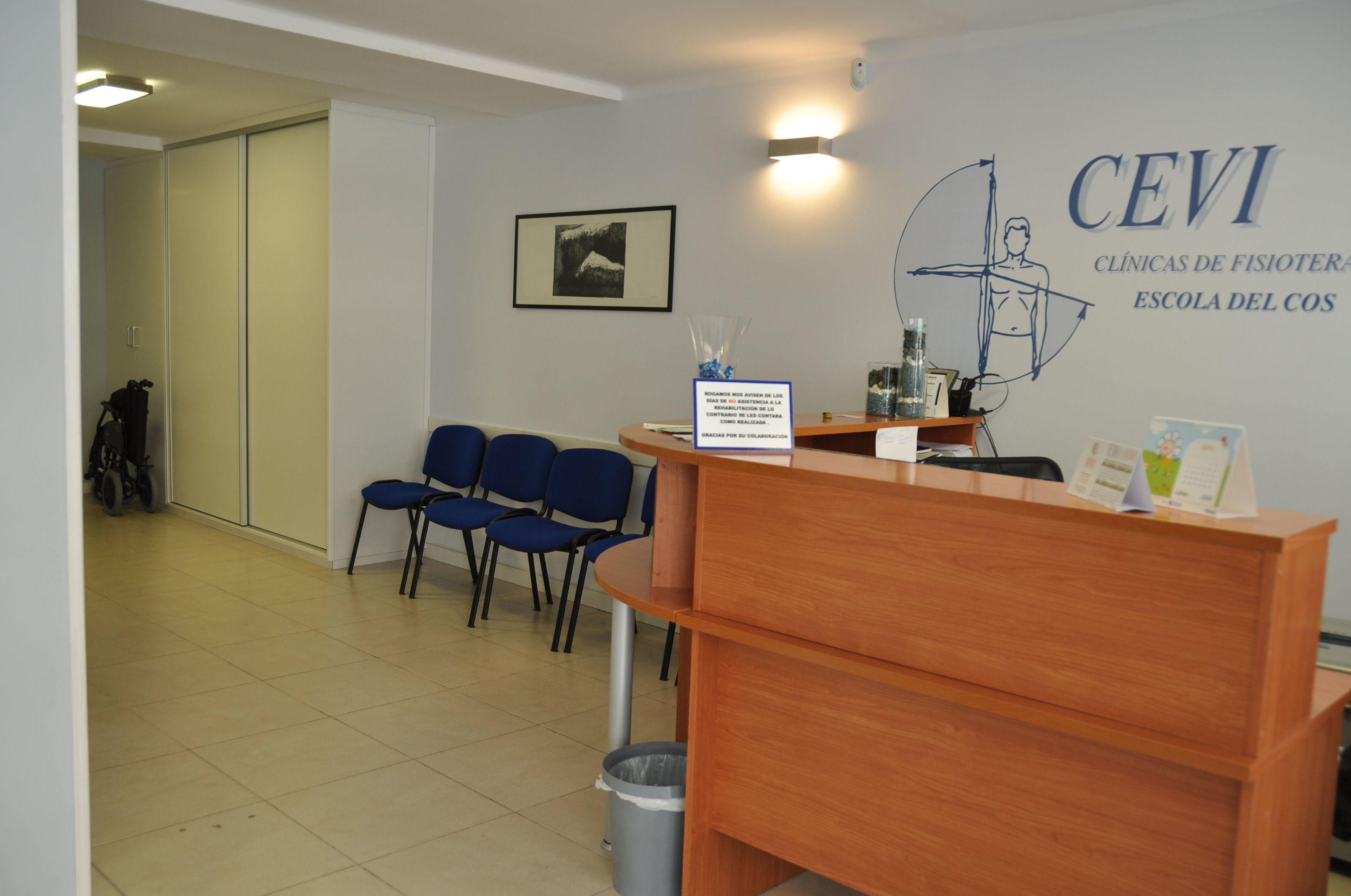 Recepción de nuestra clínica