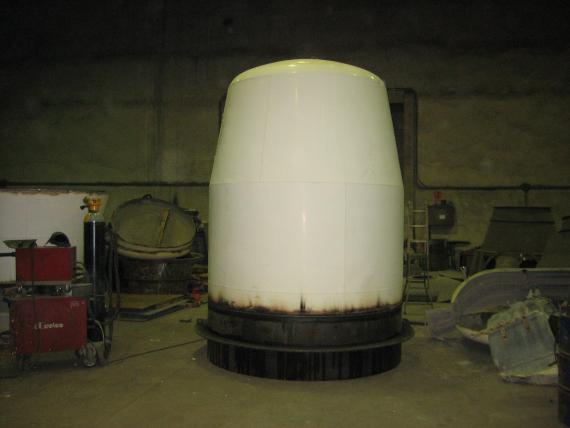 ampliacion de hormigonera de 8 a 10m3
