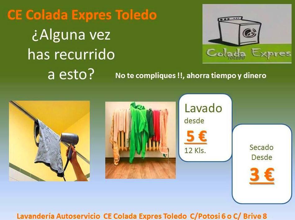 Foto 20 de Lavandería autoservicio en  | Lavandería Colada Expres Toledo