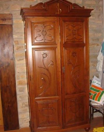 Restauración de armario antiguo