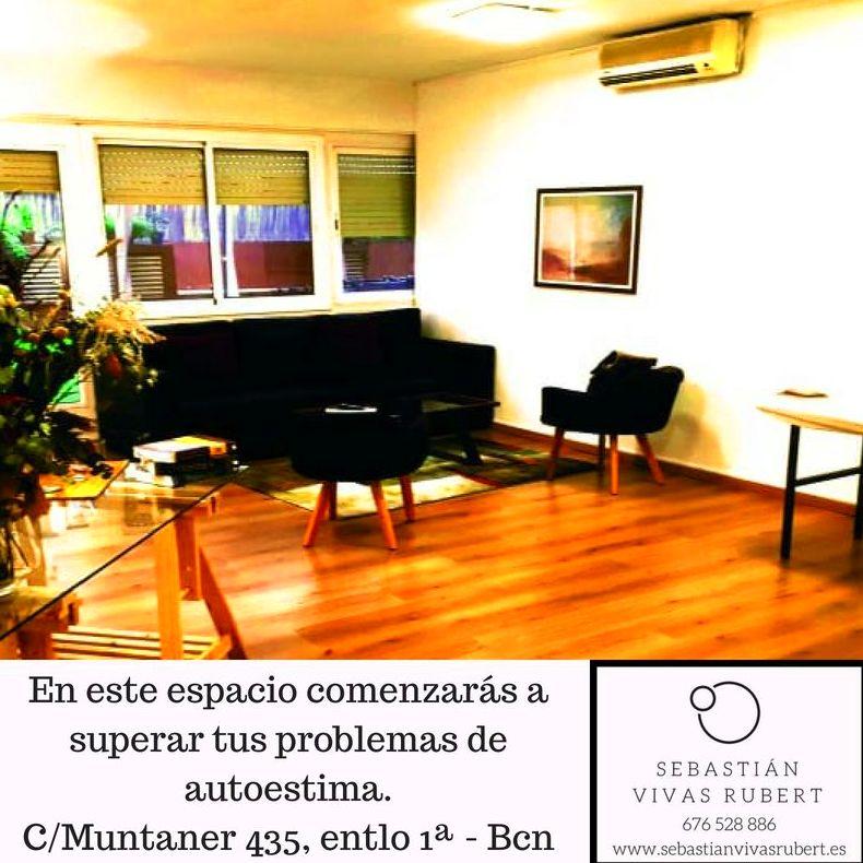 Sebastián Vivas Rubert - Experto en tratamiento de la autoestima - Sant Gervasi, Barcelona