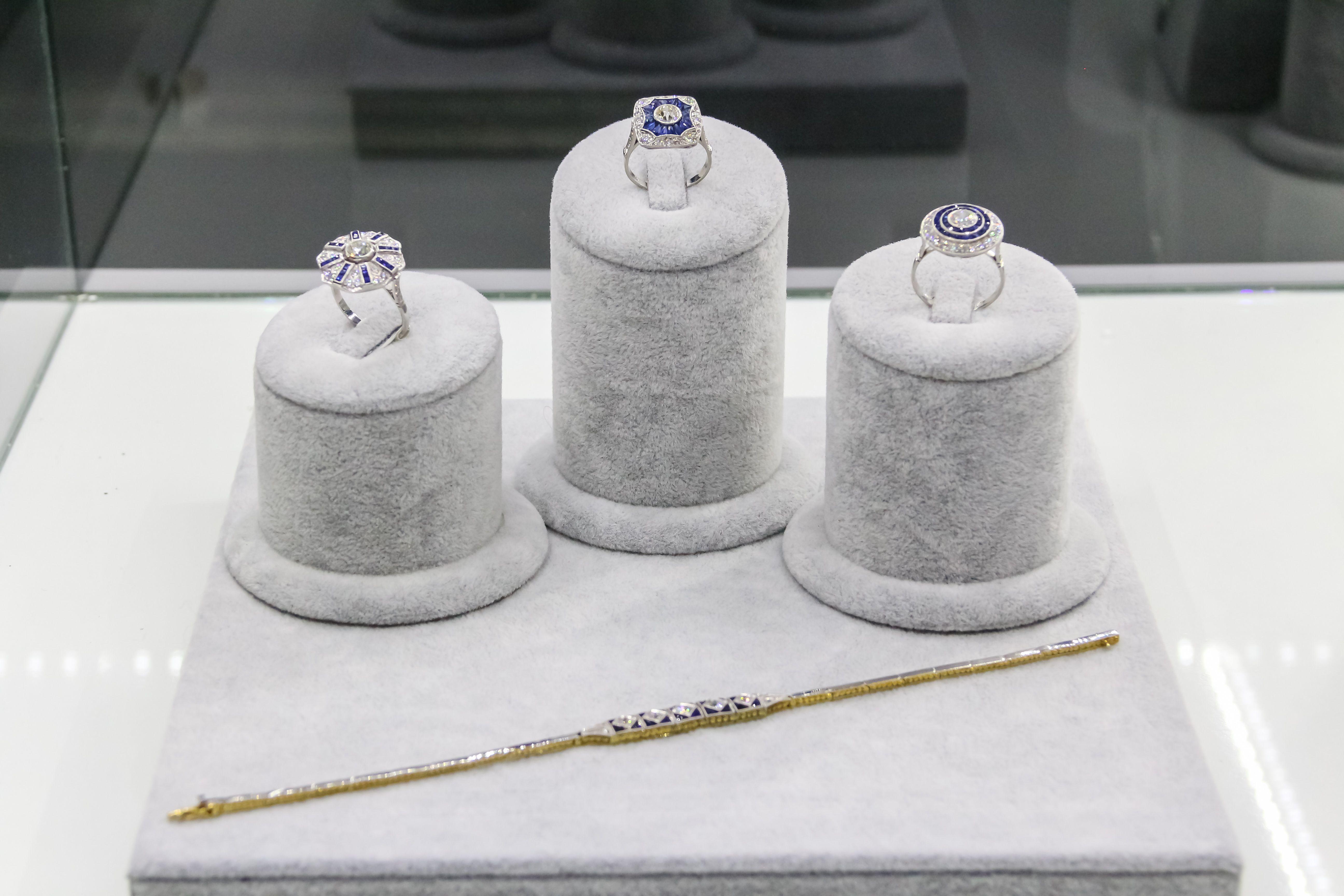 Set anillos S & B joyas y relojes