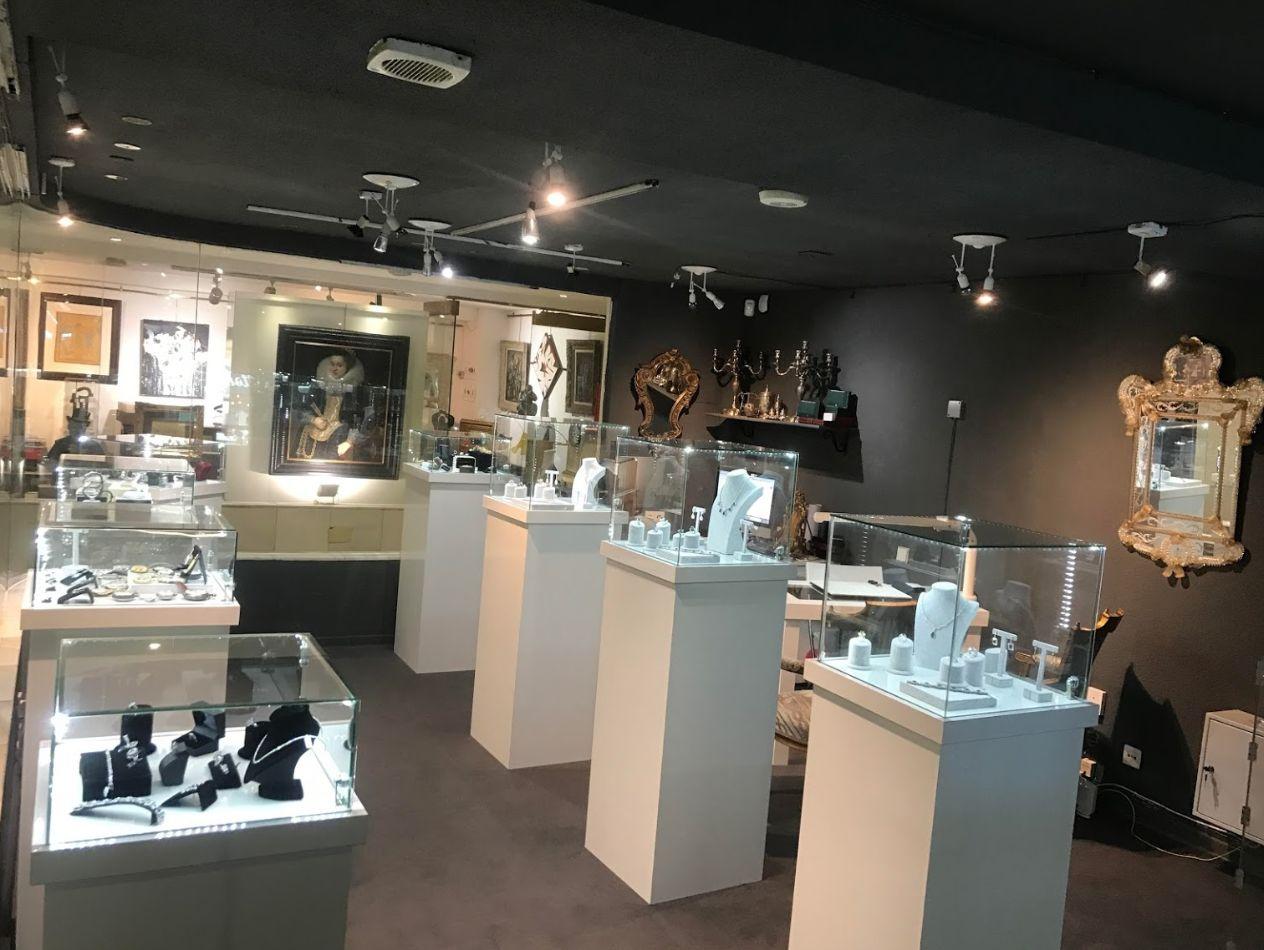 Expositores S & B joyas y relojes