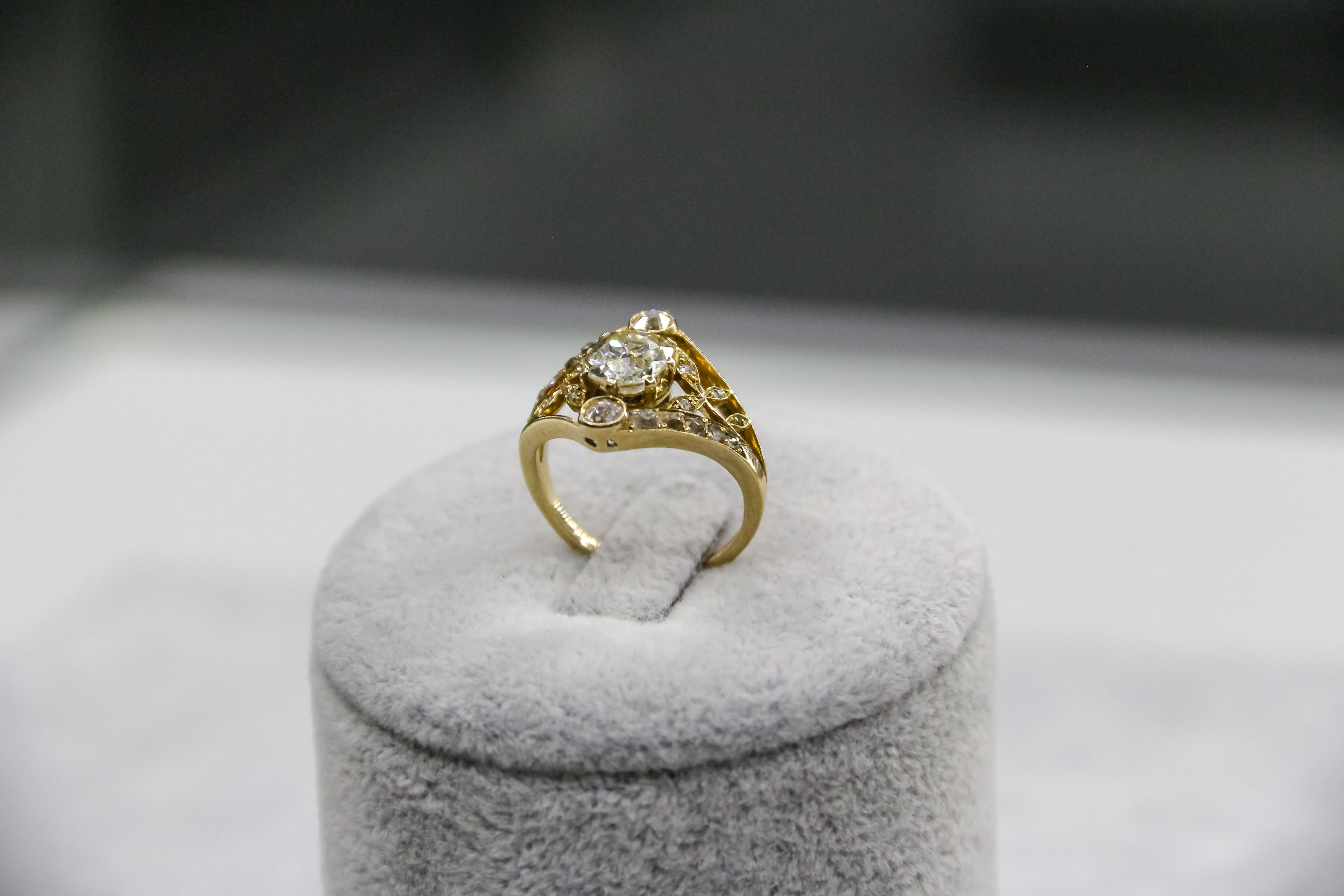 Anillo oro S & B joyas y relojes