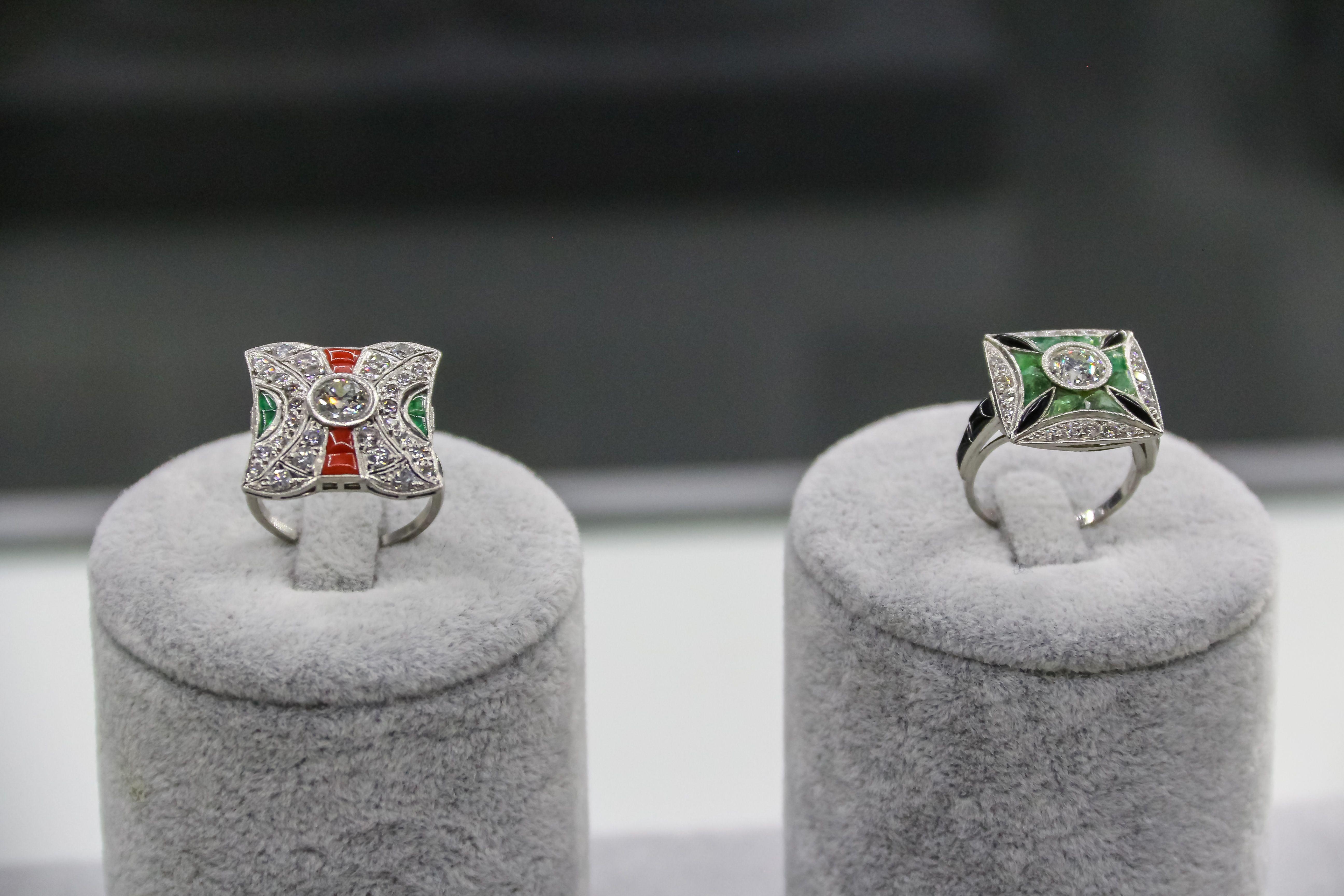 Pareja anillos S & B joyas y relojes