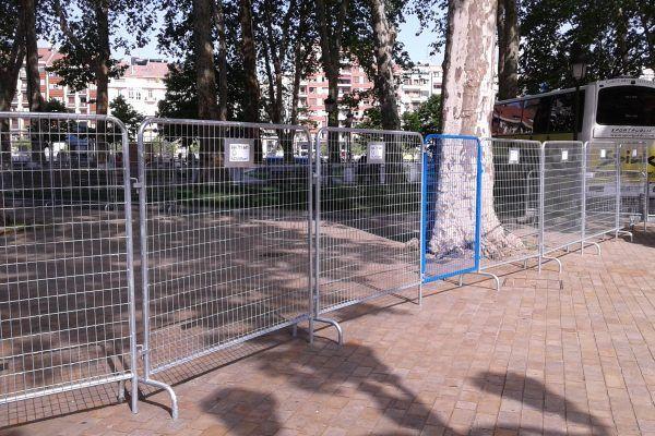 Valla cerramiento evento: Productos de Indarlan Obras y Eventos S.L.L.