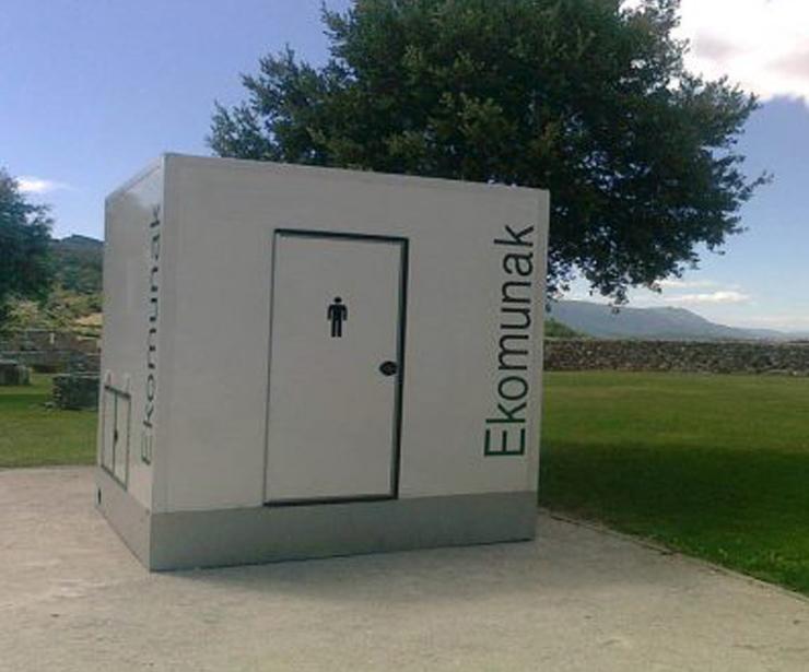 Montaje, mantenimiento y limpieza de módulos sanitarios de lujo portátiles en Vizcaya