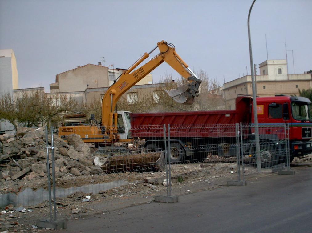 Carga de demolición.