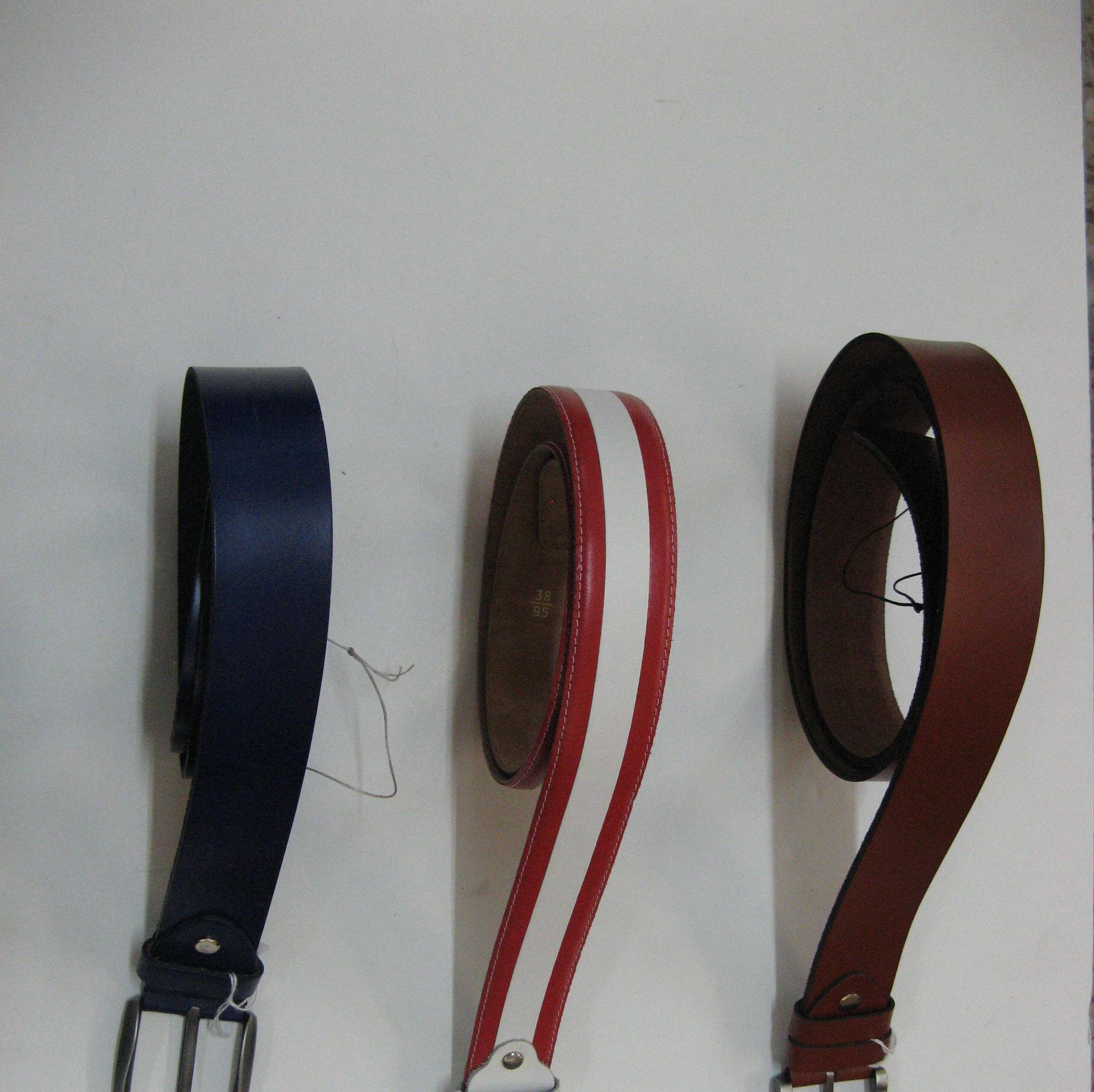 Cinturón unisex en piel