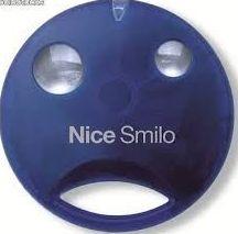 Mando Nice Smilo, 2,4 pulsadores, 433Mhz, alta en garaje