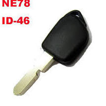 Llave Peugeot, ID 33, 45, 46