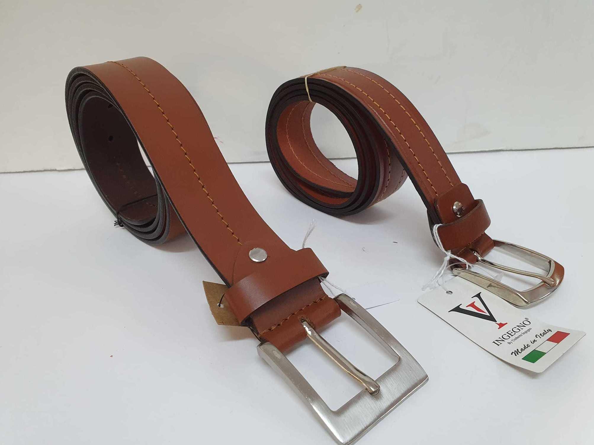 Cinturón con costura