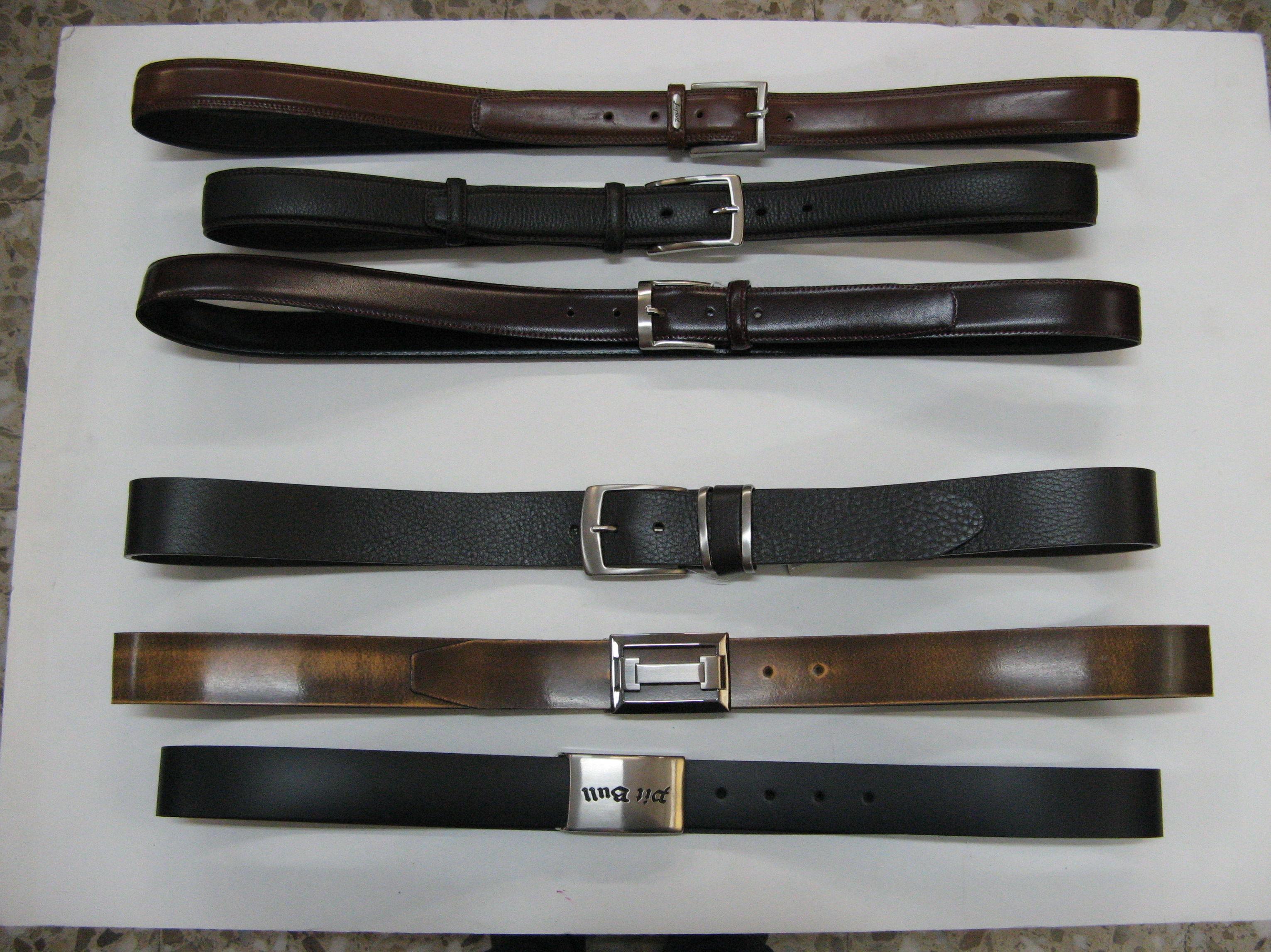 Disponemos de gran variedad de cinturones