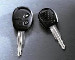 Llave Chevrolet, con mando y sin mando, Aveo, Matiz