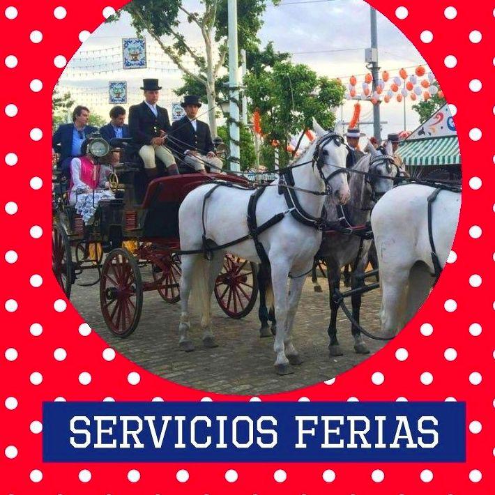 Servicios de ferias y romerias: Catálogo de JV Tours Sevilla