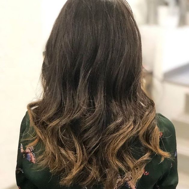 Mechas balayage y baby lights en Madrid
