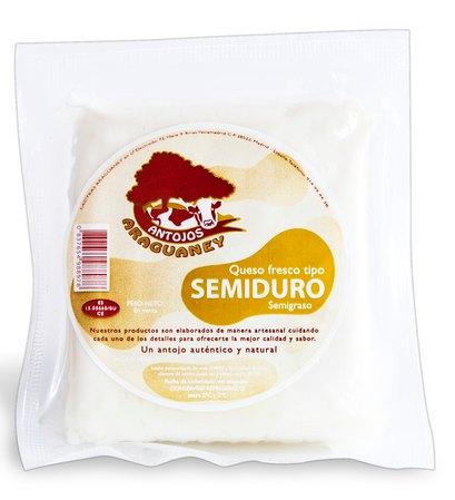 Queso de Semiduro: Productos de Antojos Araguaney