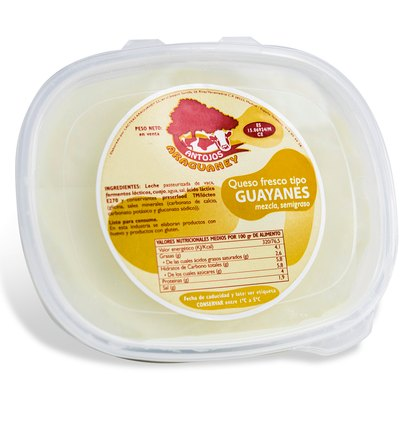Queso guayanés: Productos de Antojos Araguaney